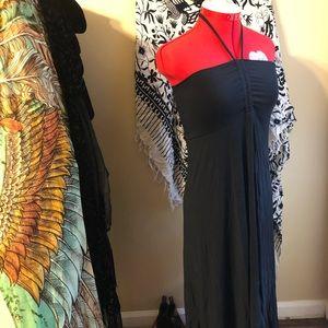 Nwot Halter summer little black dress
